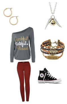 """""""Untitled #47"""" by sammyduerr on Polyvore featuring 2LUV, Converse, Quiksilver and Nordstrom"""