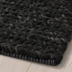 Black Shag Rug, Black Rugs, Blinds For Windows Living Rooms, Professional Carpet Cleaning, Living Room Area Rugs, Dining Room, Farmhouse Rugs, How To Clean Carpet, Wool Area Rugs