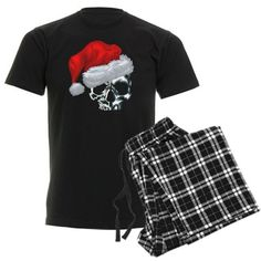 This could be a cool Holiday idea! A pajama set, socks, slippers, and a santa hat?