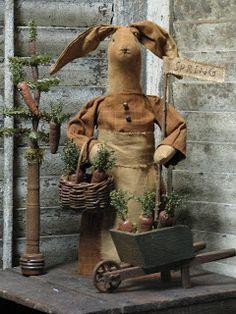 1897 House Primitives Rabbit