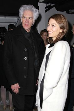 Jim Jarmusch and Sofia Coppola