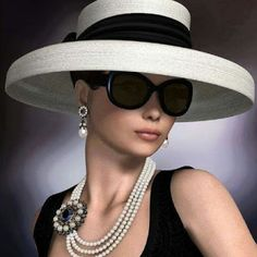 style - When it is chic it never varies! Paris Chic, Casual Mode, Mode Chanel, Stylish Hats, Church Hats, Fancy Hats, Wedding Hats, Love Hat, Derby Hats