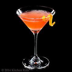 Scofflaw Cocktail, from Kitchen Riffs
