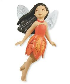 2012 Fairy Messenger Tiger Lily Hallmark Ornament | Hallmark Keepsake Ornaments at Hooked on Hallmark Ornaments