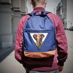 Was haltet ihr von Feralstuff Rucksäcken? #backpack #rucksack #fun #feralstuff #newideas #hamburg #startup #fashion #triangle #patch #elephant