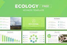 Ecology Keynote Free Presentation Template Free Powerpoint Presentations, Powerpoint Template Free, Powerpoint Presentation Templates, Chart Infographic, Photo Report, Data Charts, Ecology, Keynote, Google