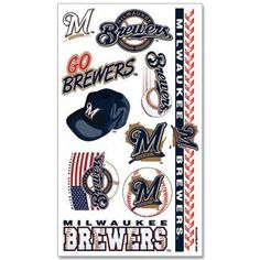 Milwaukee Brewers Temporary Tattoos WinCraft $6.99 http://www.amazon.com/dp/B002BX8470/ref=cm_sw_r_pi_dp_jk13vb1RFC9EE