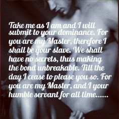 165 Best D/s images in 2019 | Submissive, Submission quotes ...