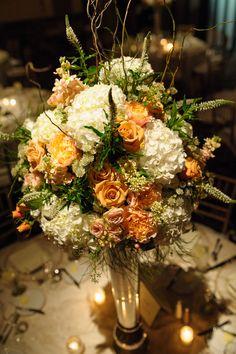 Bride Spotlight | Jackie Baker #RealWedding #CincinnatiWedding | Anemone + Juliette Roses Bouquet | Art Deco Decor