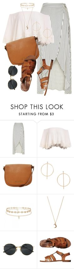 """15 ☼"" by hey-nice-to-meet-you ❤ liked on Polyvore featuring New Look, Michael Kors, MANGO, Forever New, claire's, Dries Van Noten, Windsor Smith, Summer, gold and boho"