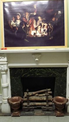 Original fireplace College Point, The Originals, Painting, Home Decor, Art, Art Background, Decoration Home, Room Decor, Painting Art