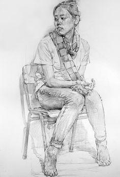 Human Figure Sketches, Human Sketch, Human Figure Drawing, Figure Sketching, Cool Drawings, Drawing Sketches, Drawing Ideas, Figure Painting, Painting & Drawing