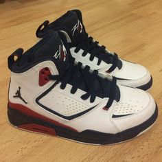 Jordan SC2 Olympic Only worn once, great condition! Size 5y (women's size 7) REASONABLE OFFERS ACCEPTED Nike Shoes