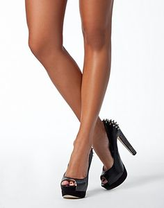 want these studded heels for prom, in nude.
