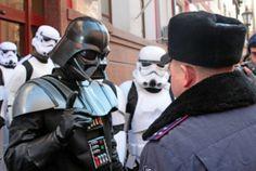 Darth Vader a presidência na Ucrânia   Nerd Da Hora