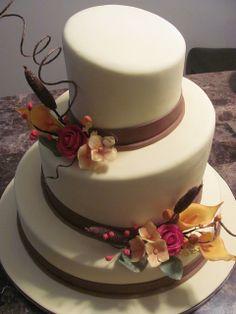 Autumn Wedding Cakes | Artisan Cake Company