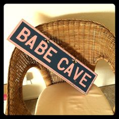 Brandy Melville Babe Cave sign - so cute!