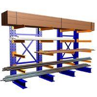 Cantilever Racks - Furniture Racks - Lumber Racking -by SJF.com