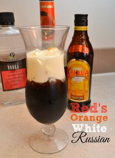 Red's Orange White Russian Cocktail Recipe - Based off Orange is the New Black! #Netflix #Thanksgiving