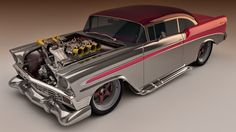 1956 Chevy Bel Air Custom by SamCurry