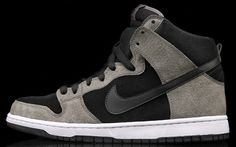 Nike SB Dunk High - Pro Clay/Black-White