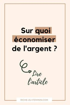 Faire Son Budget, Champions, Questions, Intuition, Budgeting, Blog, Money Saving Tips, College Student Budget, Budget Organization