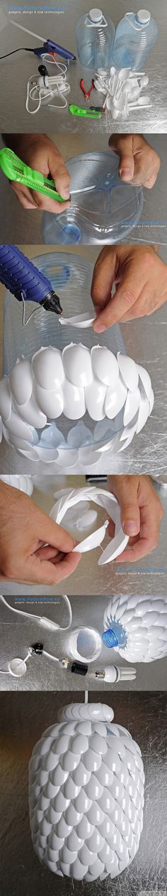 make-plastic-spoon-lamp-step-by-step