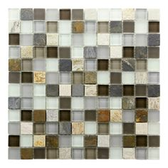 Sierra Mosaic Tile for my bathroom....I love the colors