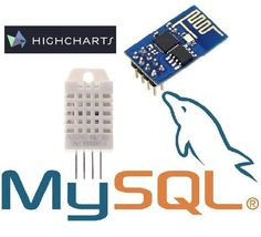 I will tell you how I did to get an to read data from and send it to an MYSQL database then view the data with HighChartsFeatures that I will add. Esp8266 Projects, Iot Projects, Hobby Electronics, Electronics Projects, Learn Sql, Esp8266 Wifi, Arduino Wifi, Arduino Programming, Programming Languages