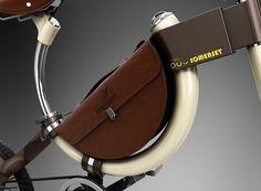 A Twist (rather, slide) on the Folding Bike | Yanko Design