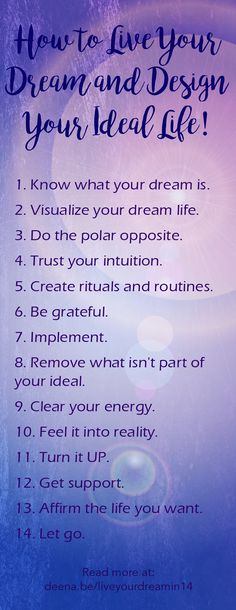 Create your dream life when you learn how to make the Law of Attraction work for you.
