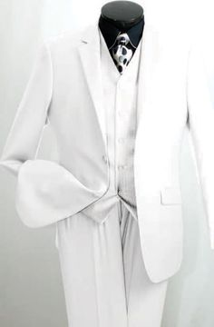 men's white pants All pant sizes will be 6 inches smaller than the jacket size For example a 42 jacket will come with a 36 waist pant.