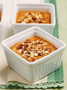 Baked Pumpkin Custards