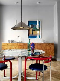 Jonas Ingerstedt of an eclectic mystery interior for Elle Decoration Sweden