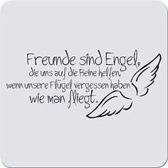 My angels are Luna Lovegood and Liv Silver ! German Quotes, German Words, More Than Words, True Words, Friendship Quotes, Cool Words, Quotations, Life Quotes, About Me Blog