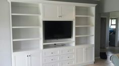Tv unit painted