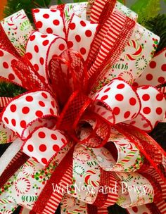 Christmas Wreaths Portfolio - Professional Wreath Designs Christmas Swags, Christmas Ribbon, Holiday Wreaths, Christmas Diy, Christmas Decorations, Winter Wreaths, Outdoor Decorations, Holiday Decorating, Holiday Ideas