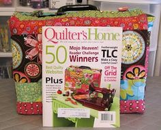 Featherweight case pattern(October/November 2010) of Quilter's Home Magazine.