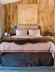 rustic bedroom by kinda.conger