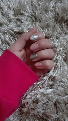 #nails#dirtyrose#mirroreffect#glitter