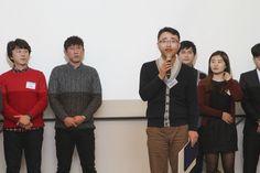 2014 베스트팀에 선정된 영업팀 대표하여 박승은 차장님 소감