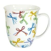 Fine Bone China 'Bow' Mug 16OZ
