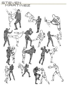 Character design and rough sketches like poses. Action Pose Reference, Body Reference Drawing, Action Poses, Art Reference Poses, Manga Combat, Fighting Drawing, Character Art, Character Design, Fighting Poses