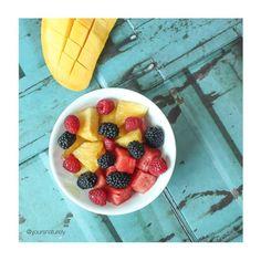 Sunday fruit bowl