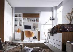 6 Claves para decorar dormitorios juveniles modernos http://ini.es/2ohUQ2V #Decoración, #Dormitorios, #DormitoriosJuvenilesModernos, #Escritorio, #IdeasParaDecorar, #Iluminación, #Muebles, #Novedades