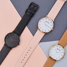 Vegan leather watches from Votch are here!