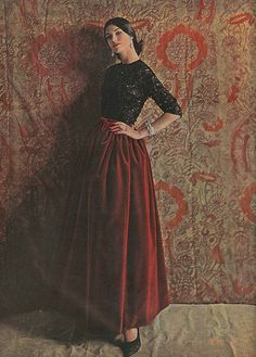 Gorgeous and still relevant today! October Vogue 1960