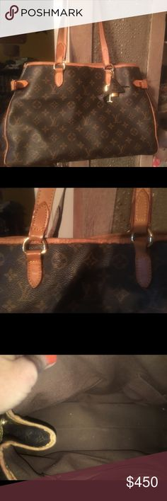 Authentic ✨Code is in last picture Piping on corners as pictured, notice in picture where under stitching folded, any questions please ask.  It's not in perfect condition but is in good condition with lots of life left.  Lock and charms not included. Smoke free home. From bottom side to side is 15 in.  From top to bottom is 9 in. Louis Vuitton Bags Satchels