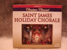 CD HOLIDAY TRADITIONAL SONGS SAINT JAMES HOLIDAY CHORAL NEW TRADITIONAL SONG NEW
