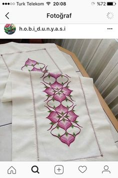 Broderie Bargello, Bargello Needlepoint, Cross Stitch Borders, Cross Stitch Patterns, Bargello Patterns, Embroidery Stitches, Tatting, Needlework, Diy And Crafts